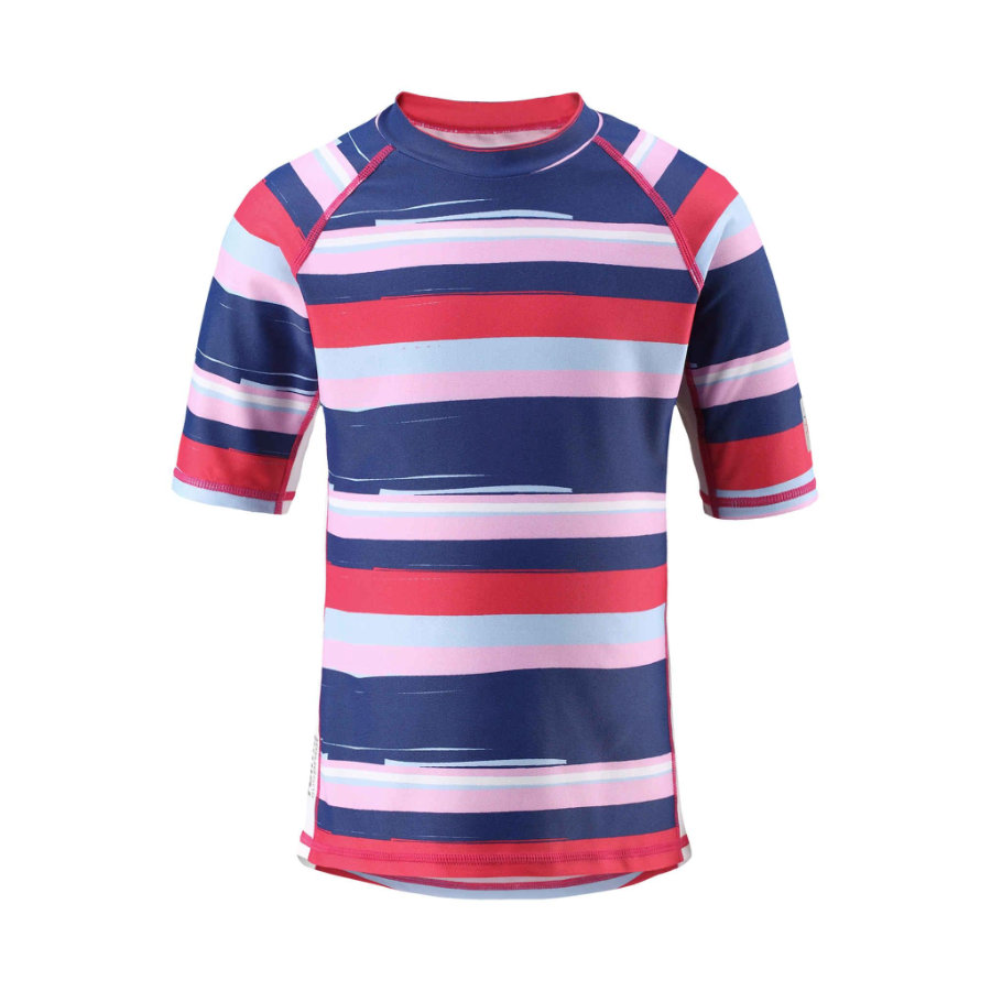 reima T-shirt de bain enfant, protection UV, Fiji, rouge fraise