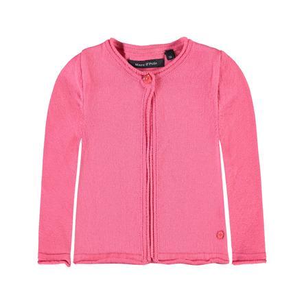 Marc O'Polo Gilet tricoté enfant fille, camellia rosé