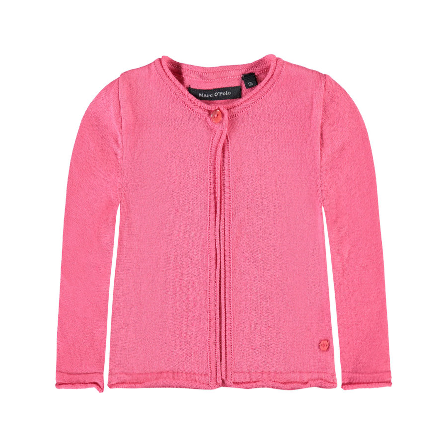 Marc O'Polo Girls Strikjakke camellia rosé