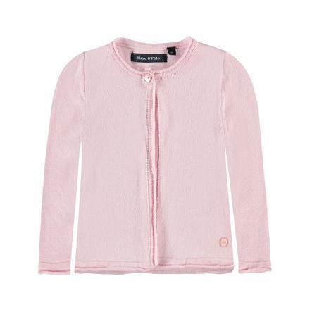 Marc O'Polo Gilet tricoté enfant fille, chalk rosé