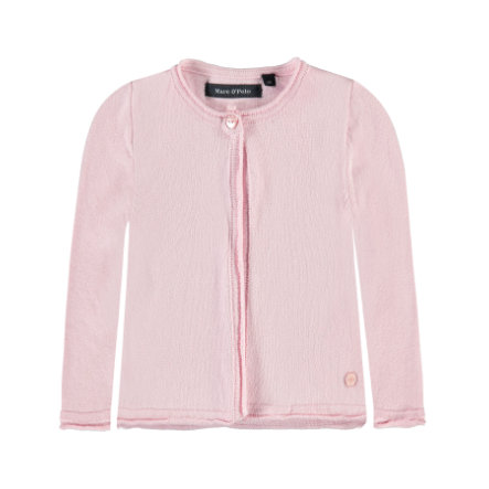 c304ce6d07 Marc O'Polo Girls Strickjacke chalk rosé - babymarkt.de
