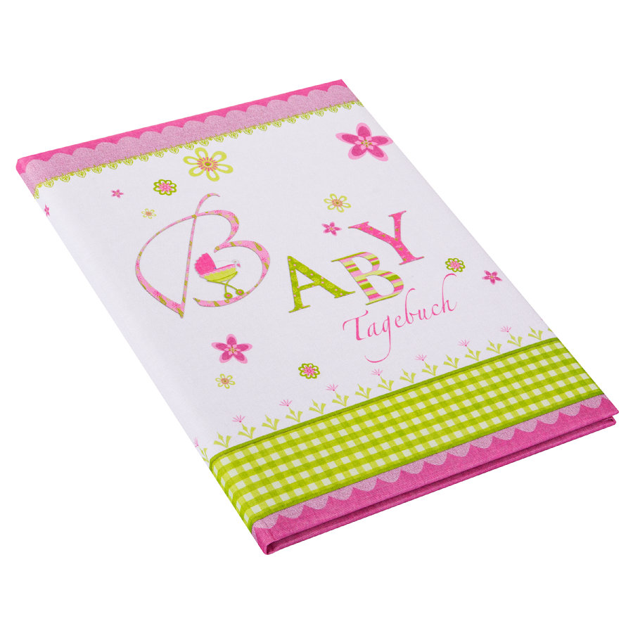 goldbuch Babydagbok Lovely, rosa