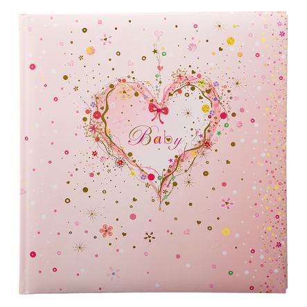 goldbuch Baby album - rosa Heart
