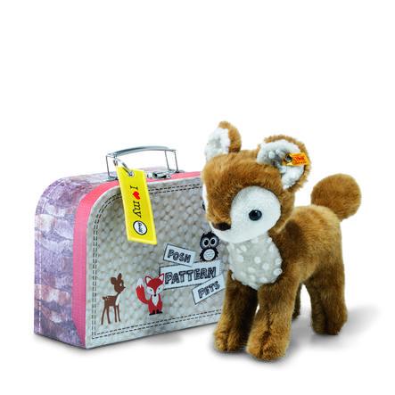 Steiff Darlin Bambi 23 baun/hvid inkl. kuffert
