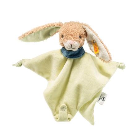 Steiff Freundefinder Hase Schmusetuch 28 beige/grün