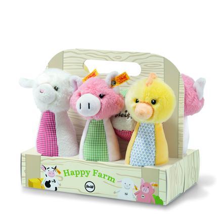 Steiff Happy Farm Kegel-Set 7 delig