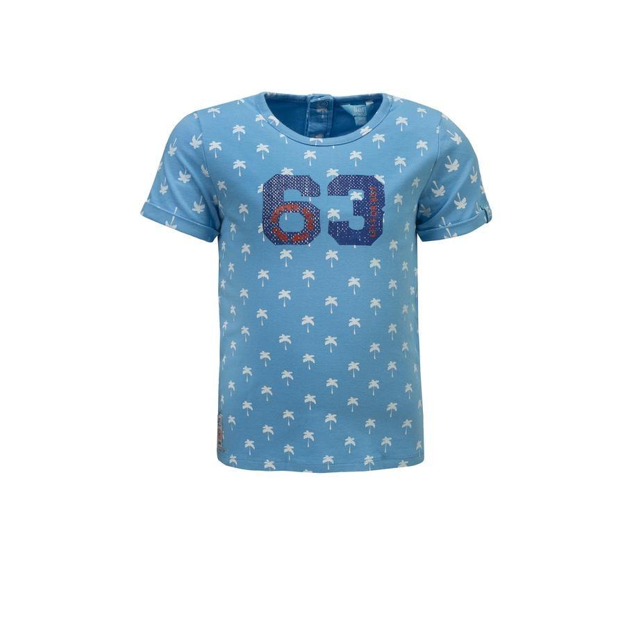 couru ! Boys T-Shirt bleu