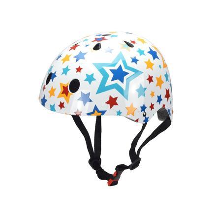 kiddimoto® Fahrradhelm Stars - M