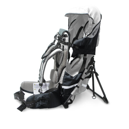 Kiddy Zaino porta bebè Adventure Pack Onyx grigio