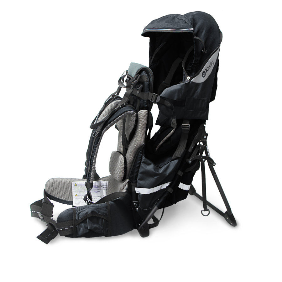 Kiddy Zaino porta bebè Adventure Pack Onyx nero