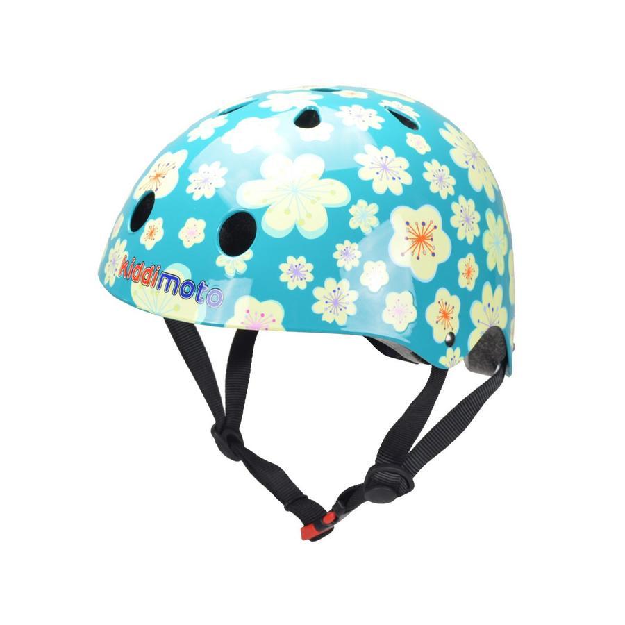 kiddimoto® Casque de vélo enfant Fleur, T. M