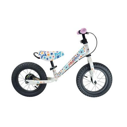 kiddimoto® Draisienne enfant SuperJunior MAX Stars 12 pouces