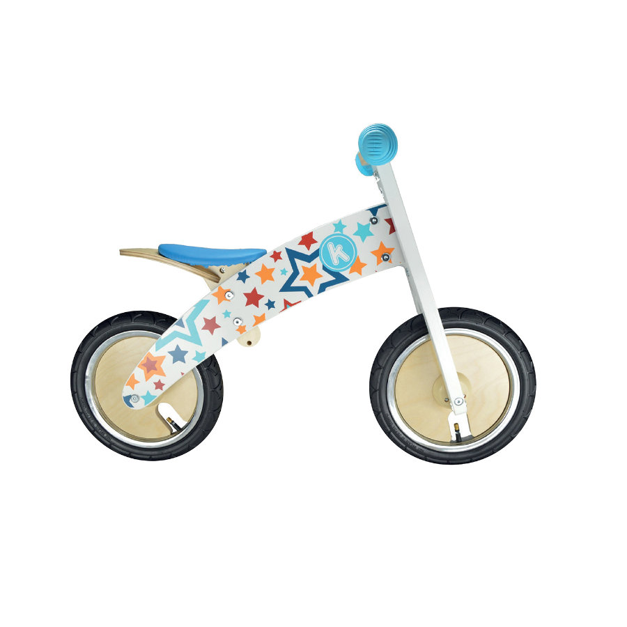 kiddimoto® Premium Laufrad KURVE - Stars