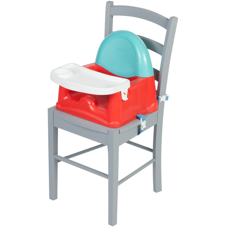 Safety 1st Rehausseur de chaise enfant Easy Care Booster Red Lines