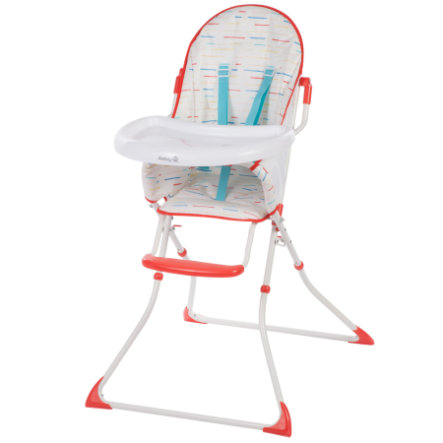 Safety 1st Chaise haute Kanji Red Lines