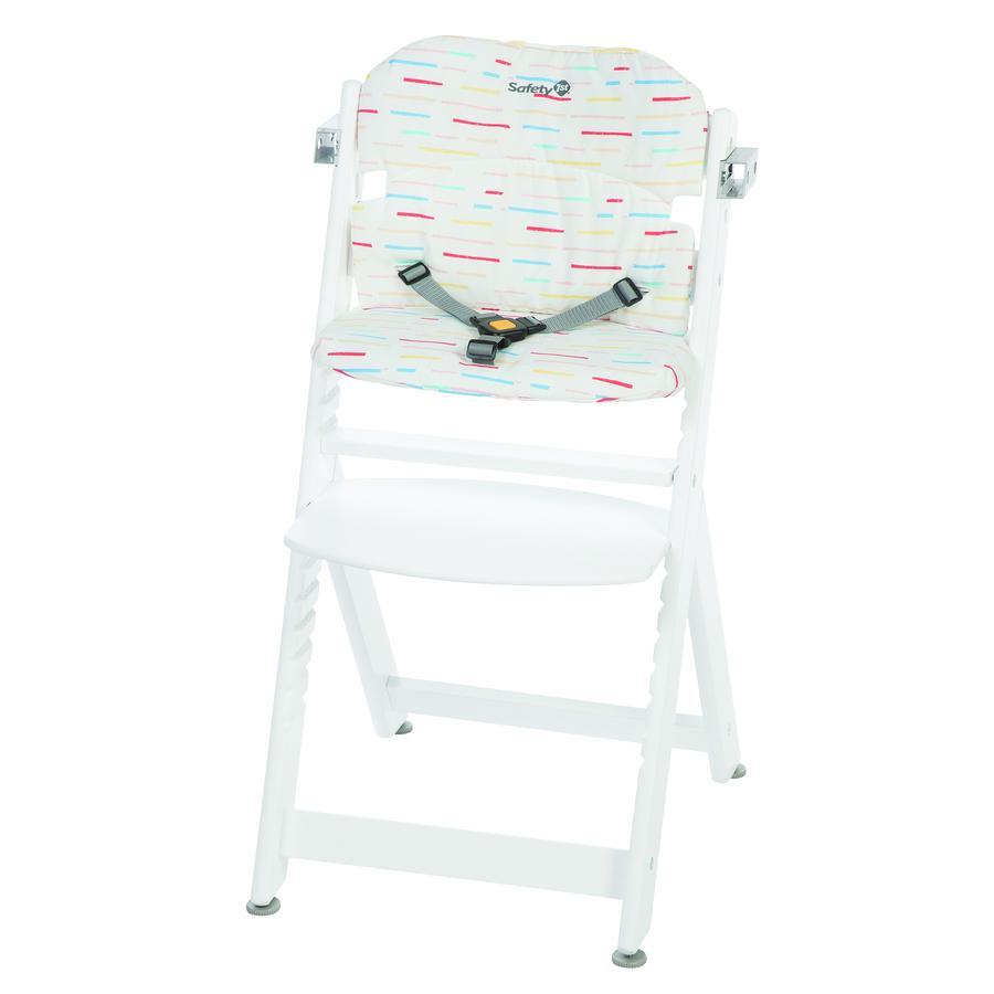 Safety 1st Coussin d'assise de chaise haute bébé Timba Cushion Red Lines
