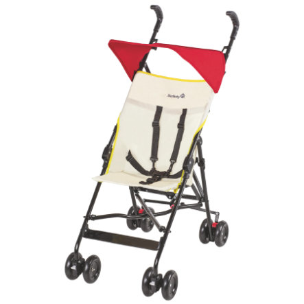 Safety 1st Poussette-canne Peps Summer Red, avec canopy