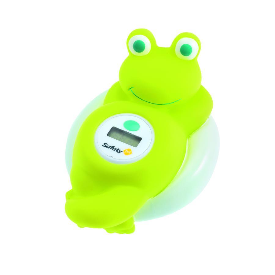 Safety 1st digital es thermo contador de baño rana verde