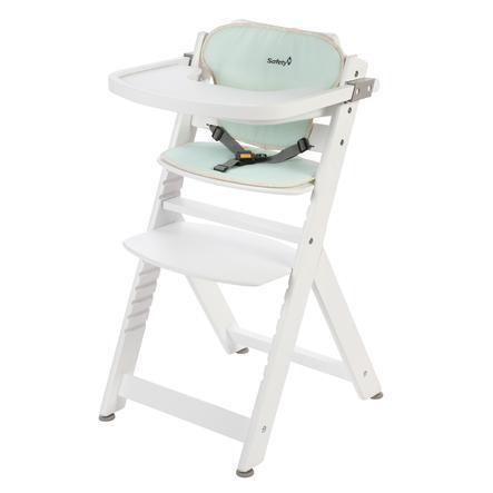 Safety 1st Chaise haute bébé Timba Pop Hero blanc/pop