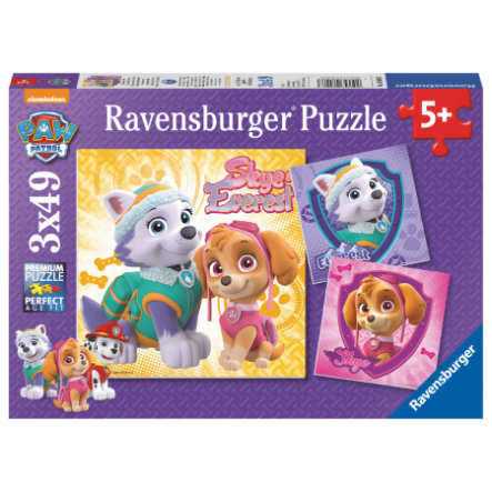 Ravensburger Puzzle 3 x 49 pieces Paw Patrol: Enchanting Dog Girls