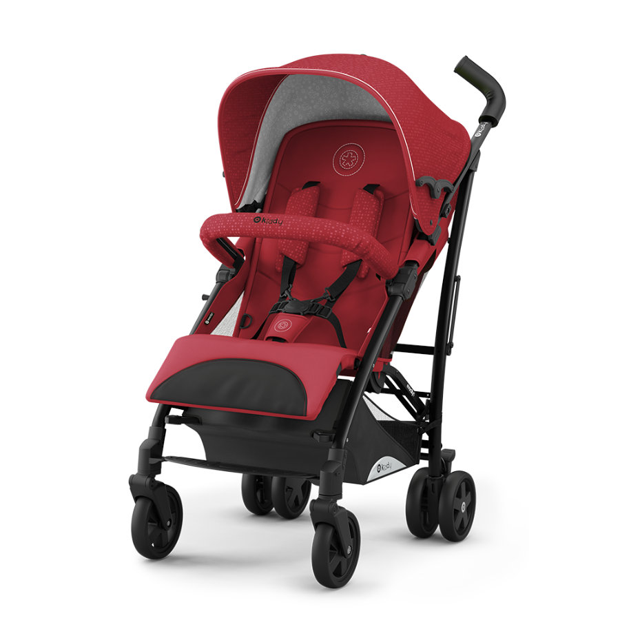 KIDDY Lastenrattaat Evocity 1, Ruby Red
