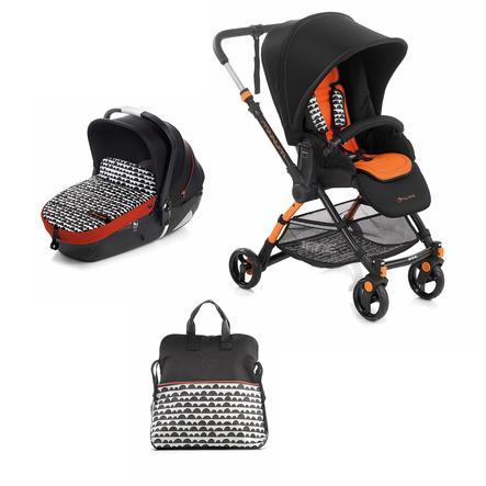 JANE Sportwagen Minnum inklusive Babywanne iMatrix, Clouds