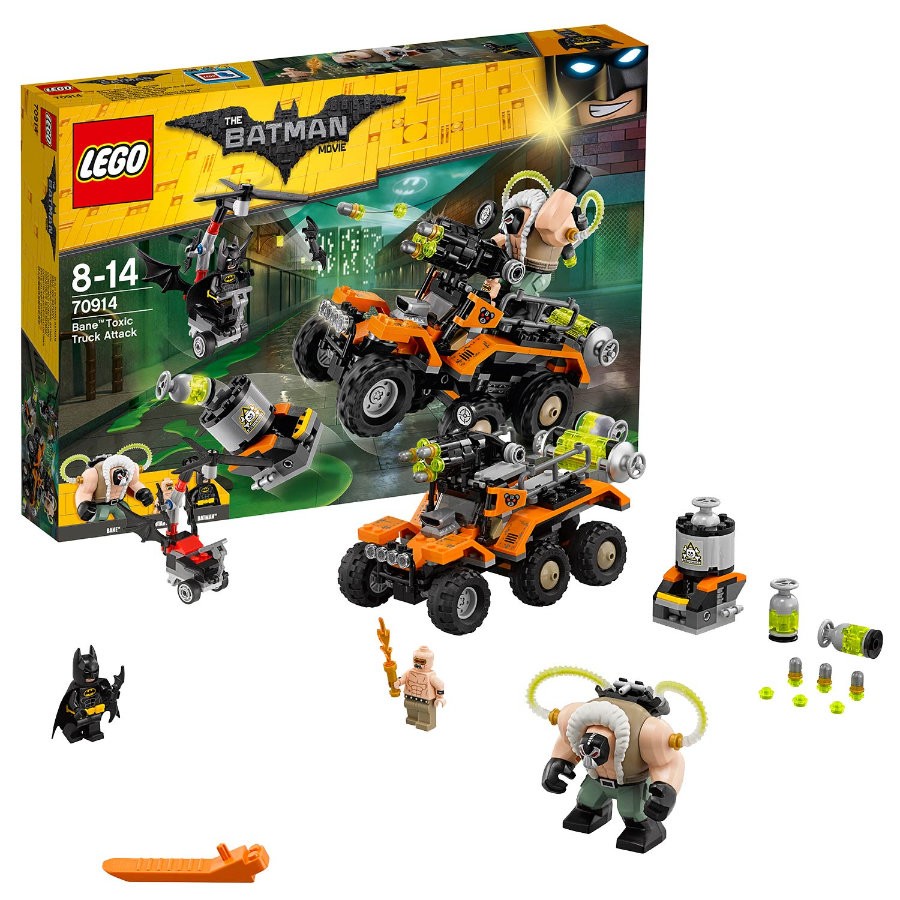 LEGO® Batman Movie™ L'attaque du camion toxique de Bane™ 70914