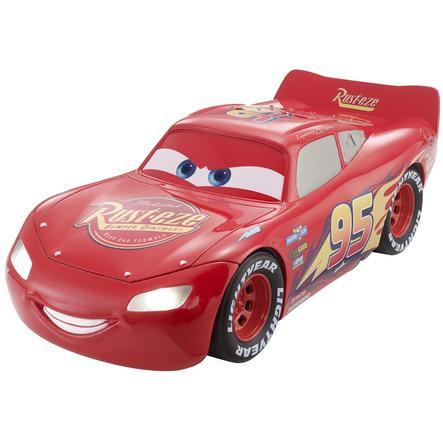 MATTEL Disney Cars 3 - Saetta McQueen con luci e suoni