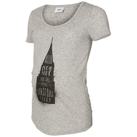 mama licious T-Shirt MLSPRING Grijze wolkenkrabber