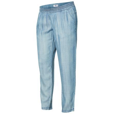 mama licious Pantaloni premaman MLLILO Blue Denim
