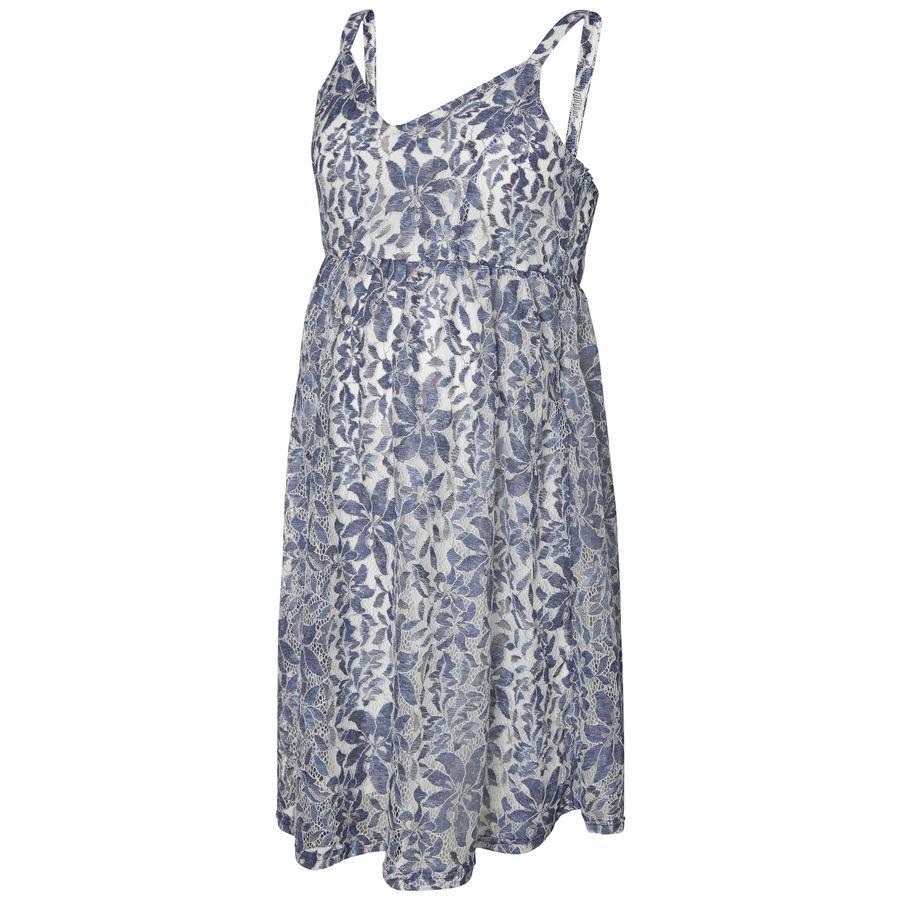mama licious těhotenské šaty MLDENIA Twilight Blue
