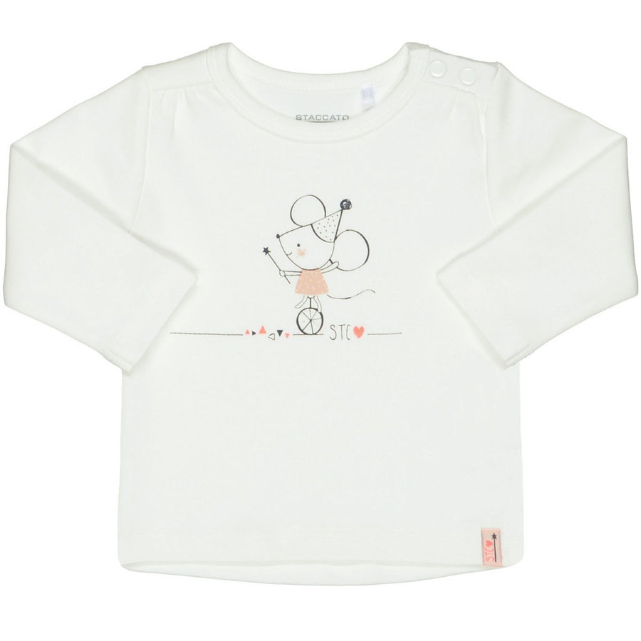 STACCATO Girls Shirt offwhite Maus