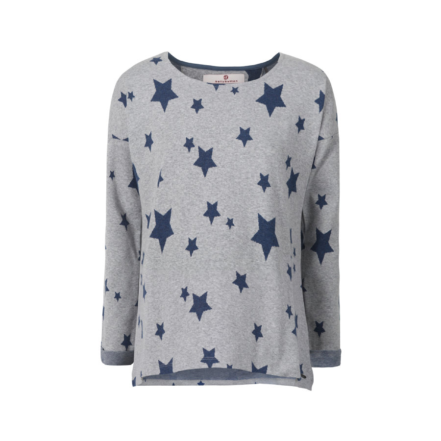 bellybutton gravid Sweatshirt Stars