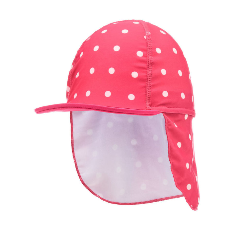 name it Girls Zarisa UV-Cap bright rose
