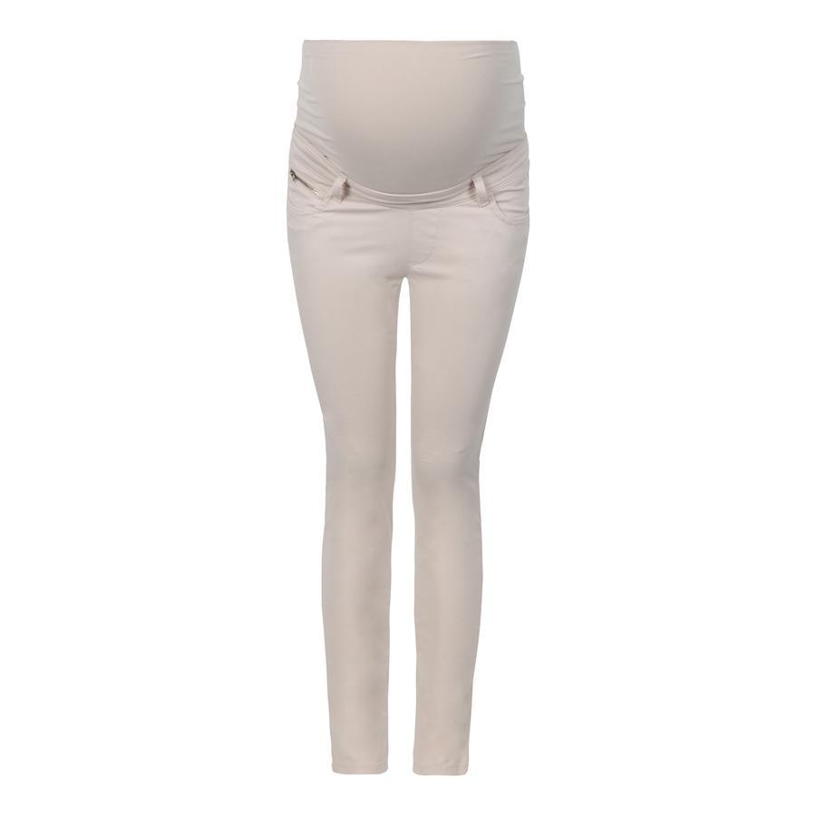 bellybutton Pantaloni premaman cream tan