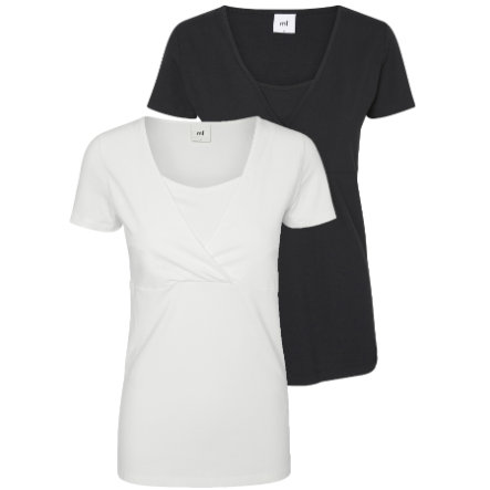 mama licious těhotenské tričko T-Shirt MLLEA 2 ks