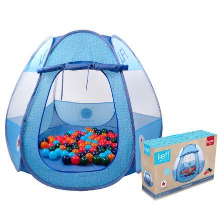 knorr® toys hrací stan Boys včetně 50 míčků