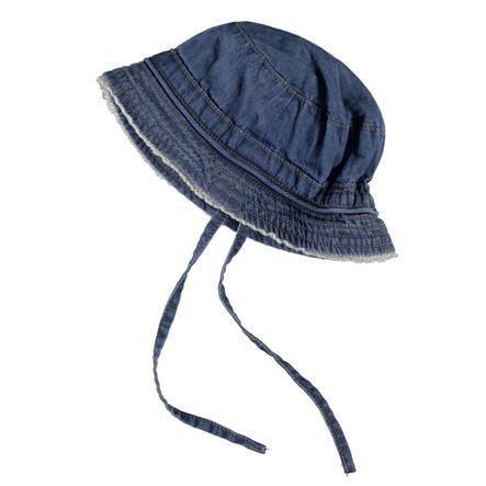name it Girl s Cap Bava azul claro denim