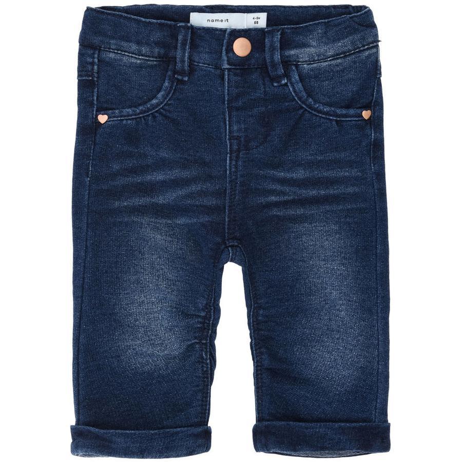 name it Girls Spodnie Jeans Bony dark denim