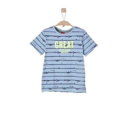 s.Oliver Boys T-Shirt bleu clair