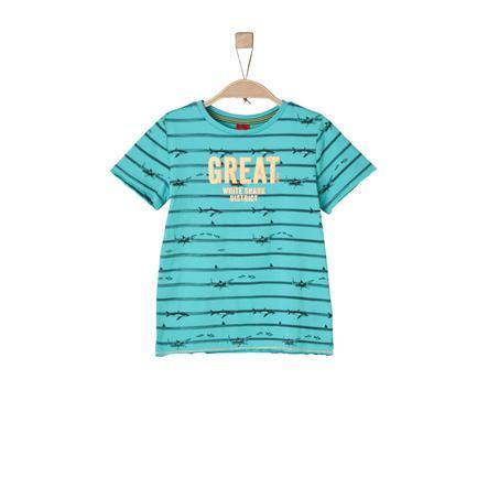 s.Oliver Boys Koszulka T-Shirt turquoise