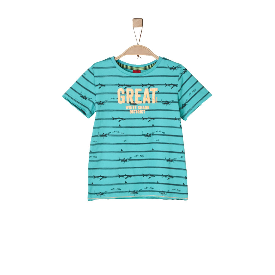 s.Oliver Boys T-Shirt turquoise
