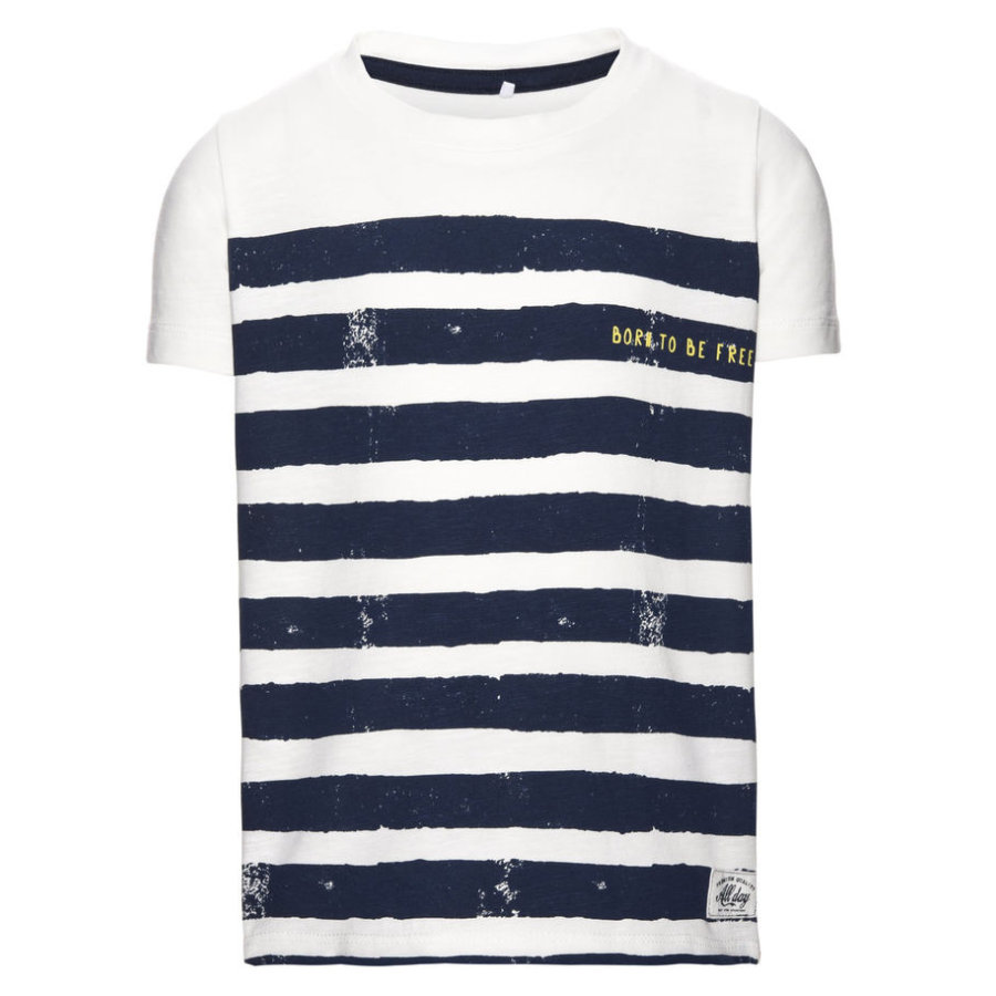 name it Boys T-Shirt Felix snow white