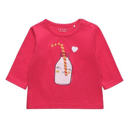 ESPRIT Långärmad tröja Amira Strawberry