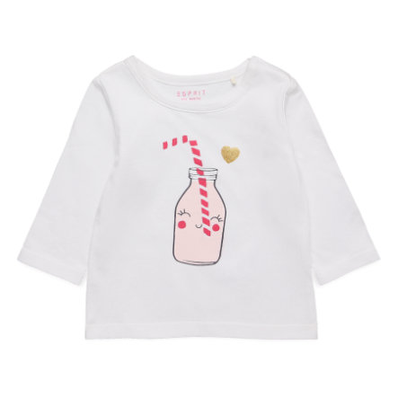 ESPRIT Camisa manga larga Amira blanca