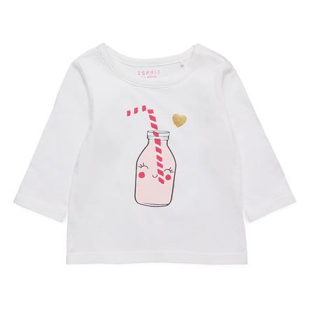 ESPRIT Långärmad tröja Amira vit