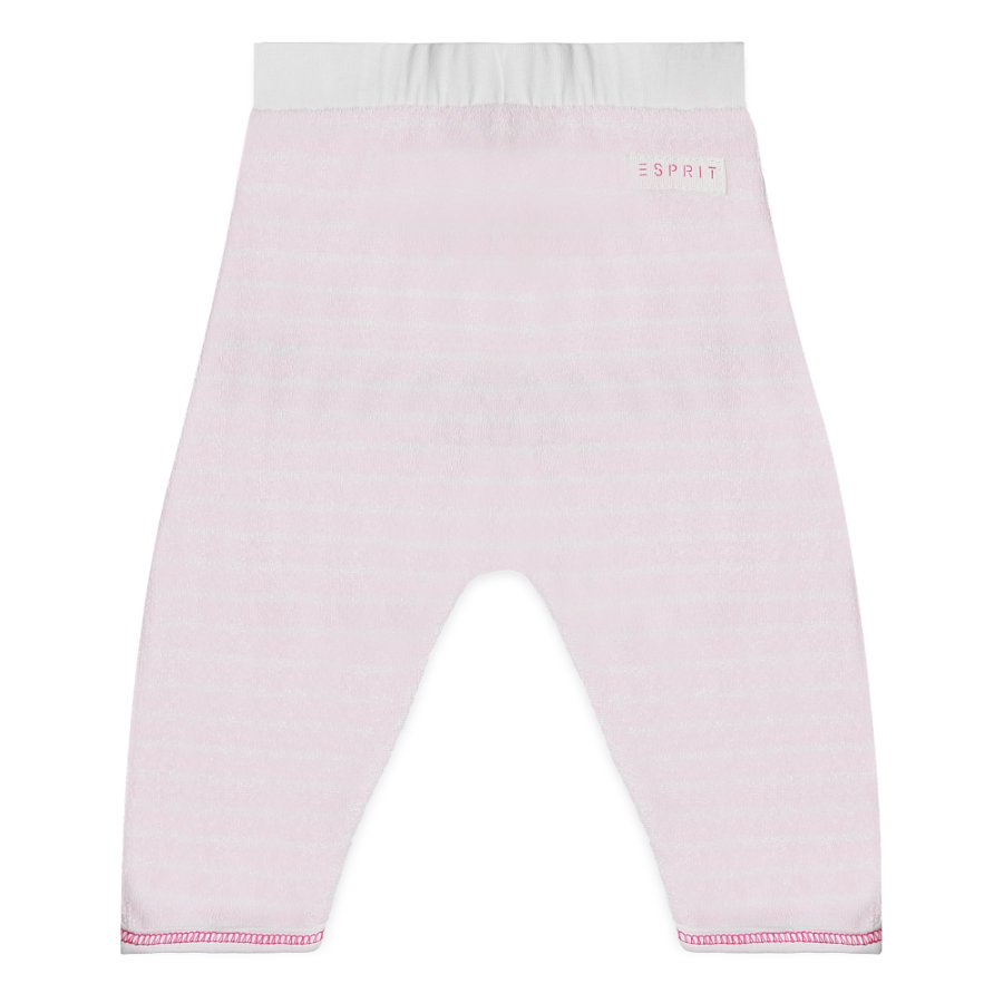 ESPRIT Girl s Pantalones de chándal rosa pastel