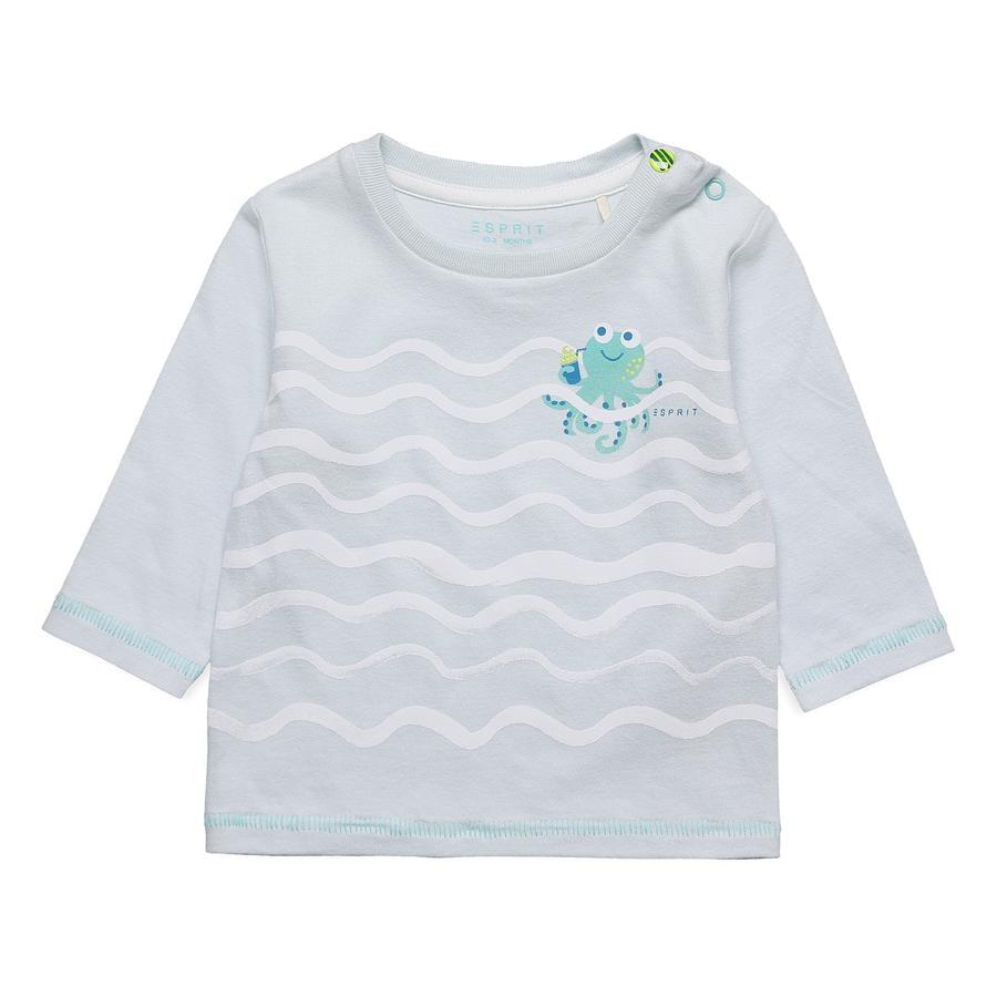 ESPRIT Overhemd met lange mouwen golven