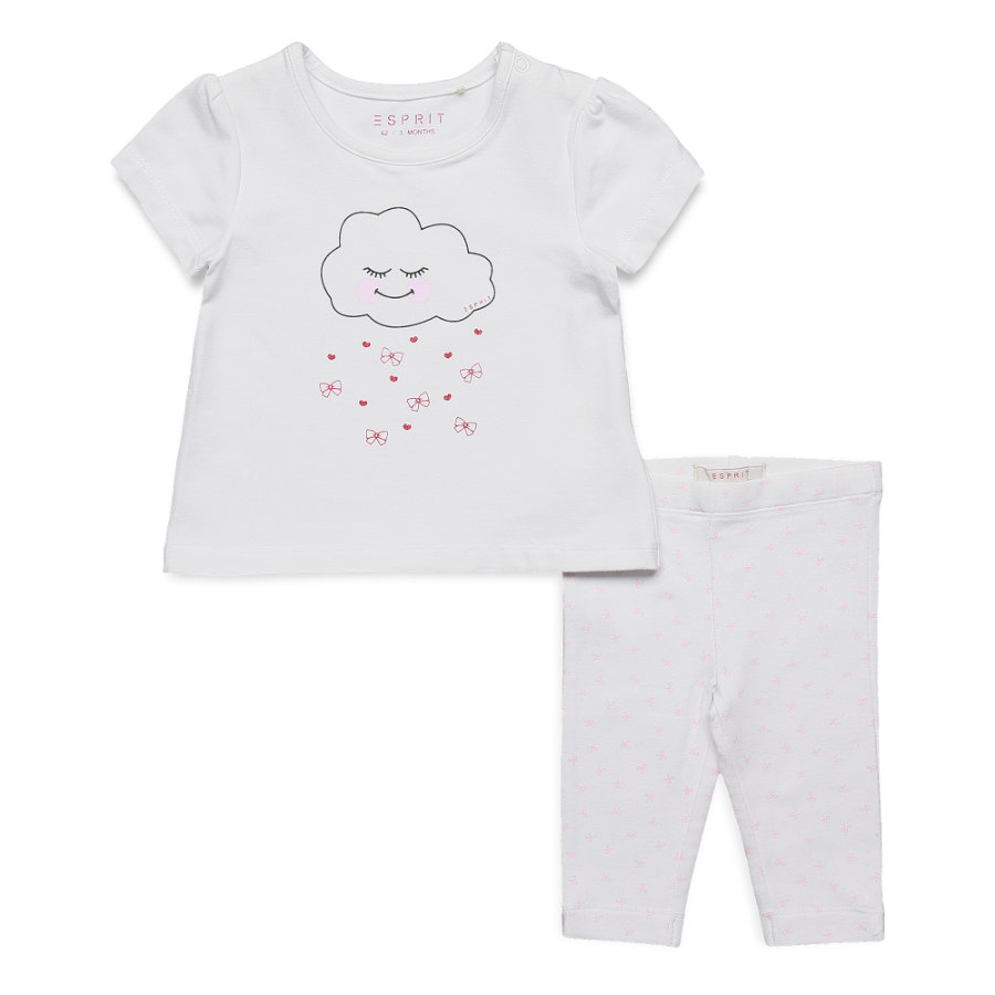 ESPRIT Girl s Set blanco