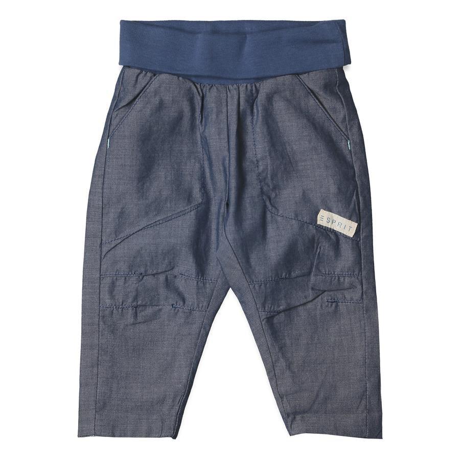 ESPRIT Pantalon Chambray